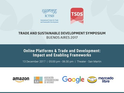 Online Platforms & Trade and Development: Impact and Enabling Frameworks
