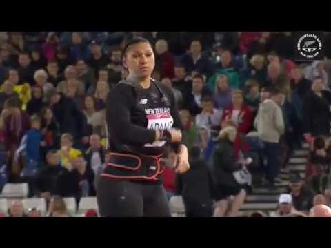 Valerie Adams claims Gold at Glasgow Commonwealth Games