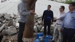 Разлив нефтепродуктов Курча-Мурча