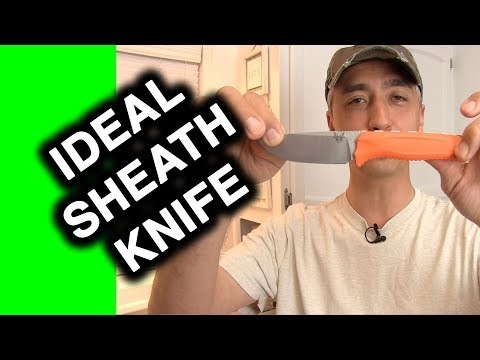 Benchmade Steep Country Knife Review – What's a Great sheath knife?