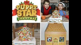 Puppy Star Christmas Gingerbread House @airbud @airbudofficial #puppystarchristmas