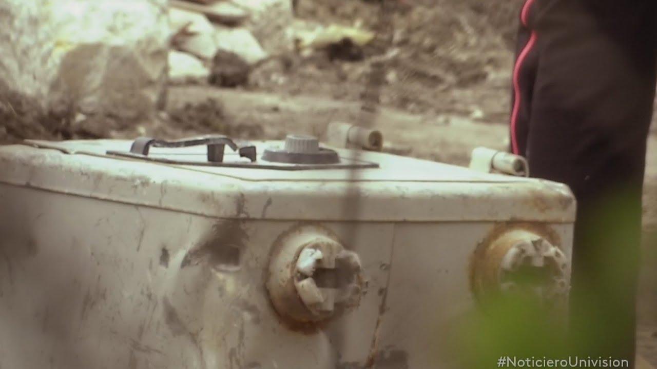 Encuentran misteriosa caja en la que fue casa de Pablo Escobar - YouTube