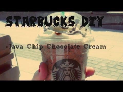 Starbucks DIY - Java Chip Chocolate Cream