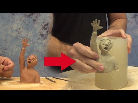 How To Make A Silicone Mold Of A Clay Sculpture