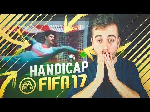 REACCIONANDO AL HANDICAP EN FIFA 17!!!!