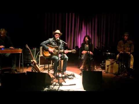 Jeffrey Foucault - Hurricane Lamp (live @LUX Nijmegen)