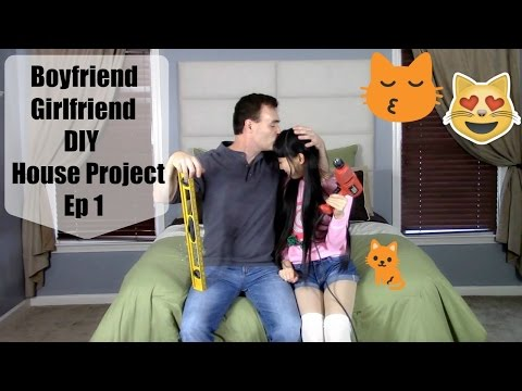 Boyfriend and Girlfriend DIY House Project Ep 1