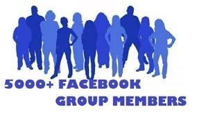 HOW To Increase Facebook Group Members Very Easy Way 2016 URDU/HINDI