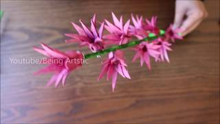 Egg Carton Flower Stick - DIY Craft - Best Out Of Waste