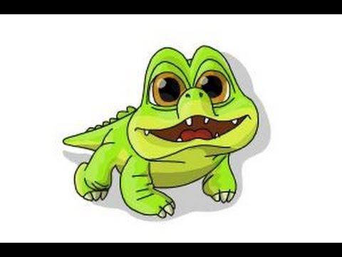 How to draw Croc from The Pirate Fairy - YouTube Original Tinkerbell Drawings