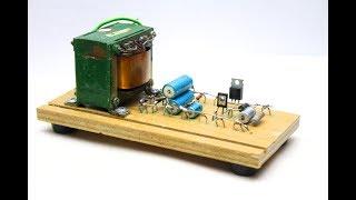 начинающему Радиолюбителю  - простой лабораторный блок питания