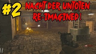 NACHT DER UNTOTEN RE-IMAGINED: Easter Egg Complete!▐ CoD World at War Custom Zombies Map/Mod