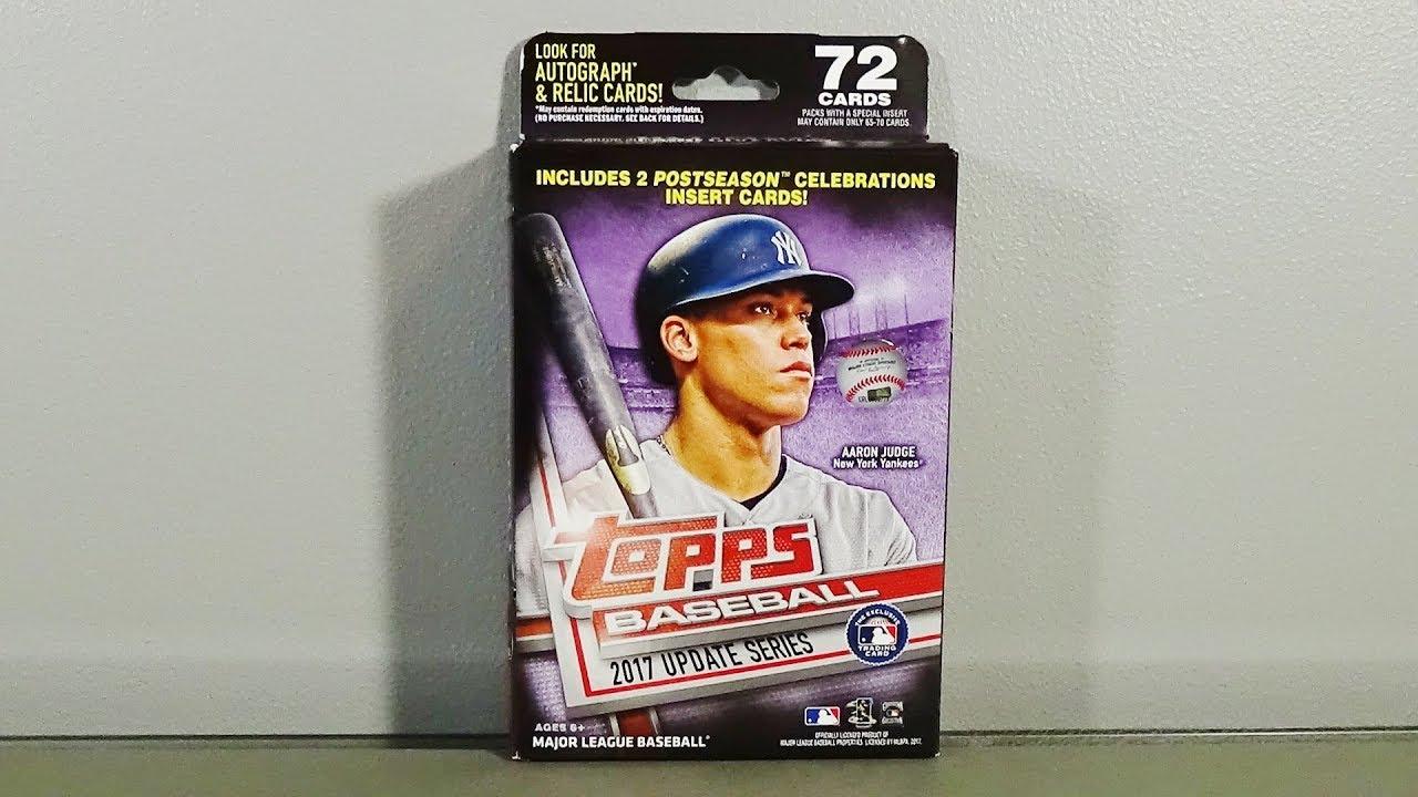 2017 Topps Update Baseball Hanger Box Break Awesome