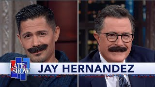 """Jay Hernandez Dropped The Mustache For His Portrayal Of """"Magnum P.I."""""""