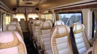 Прокат микроавтобусов Mercedes Sprinter / мерседес спринтер люкс золотой(, 2016-01-14T14:15:42.000Z)
