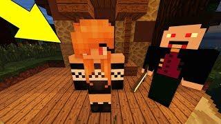 ЧТО ЕСЛИ ВЕДЬМА ДЕВУШКА ВАМПИР ЖИВА? КАК в Майнкрафт Выживание Мультик для детей Minecraft