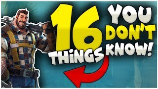 16 NEW THINGS You STILL Don't Know | Fortnite Battle Royale | Tips And Tricks | Secrets