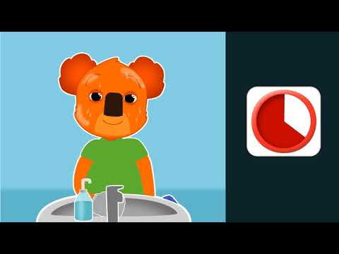 Thumbnail Lave-toi le visage avec Ben le koala - Main droite