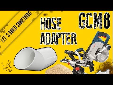 Bosch Absaugadapter für GCM 10 S