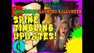 Goosebumps Haunted Halloween: Spine Tingling Updates!
