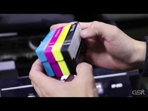 How to replace Ink Cartridge on Epson XP-200 Printer &Printing Test
