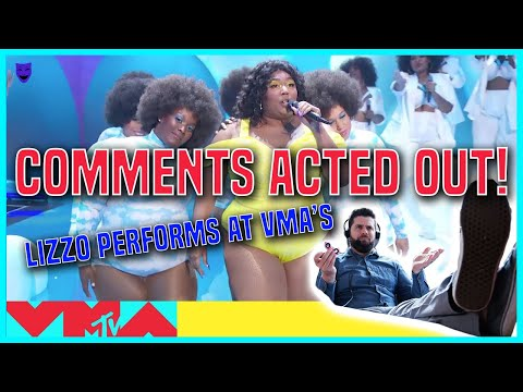 LIZZO PERFORMS AT THE 2019 Video Music Awards   YouTube Comment Theater