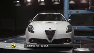 Euro NCAP Crash Test of Alfa Romeo Giulietta