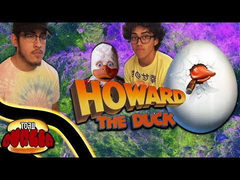 HOWARD THE DUCK  (MOVIE REVIEW)