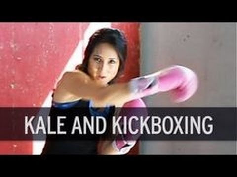 XHIT - Fitness and Food Journal: Kickboxing Cardio Workout and Kale Chips Recipe