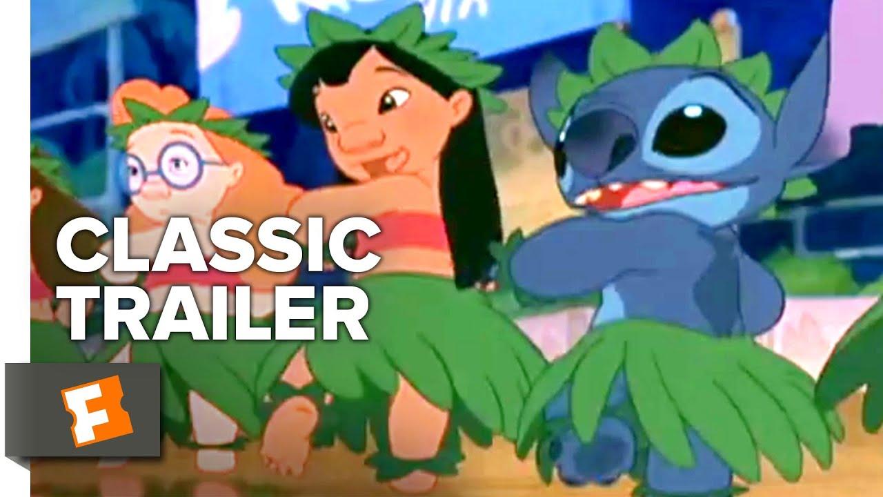 Lilo Stitch 2002 Trailer 1 Movieclips Classic Trailers Youtube