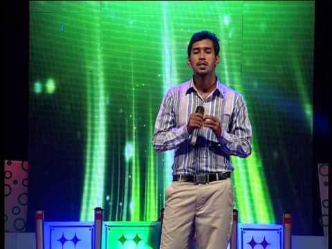 Kalyan Sarees Smart Singer Episode 56 MIDHUN ILAYARAJA ROUND Vezhambal kezhum