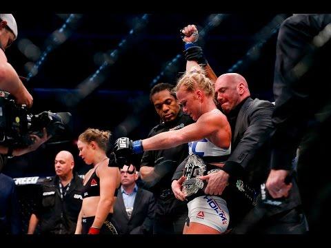Спорт: Ронда Роузи получит бой-реванш с Холли Холм -
