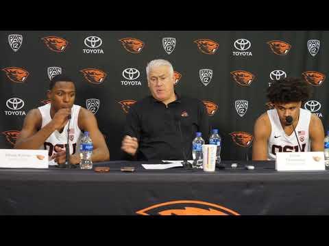 Oregon State MBB Vs UCLA Post Game Presser - 1/13/19