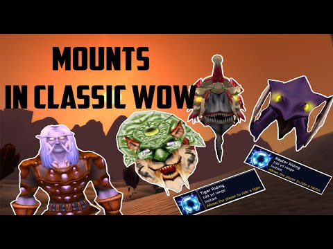 Classic WoW: Everything You Need To Know About Mounts