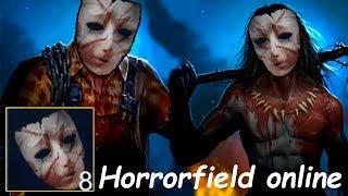 Старая маска Horrorfield online! играем за маньяков, дбд на телефоне