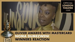 Winner Reaction: Noma Dumezweni for Harry Potter And The Cursed Child