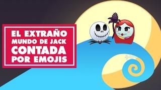 El Extraño Mundo de Jack Contada por Emojis | Oh My Disney
