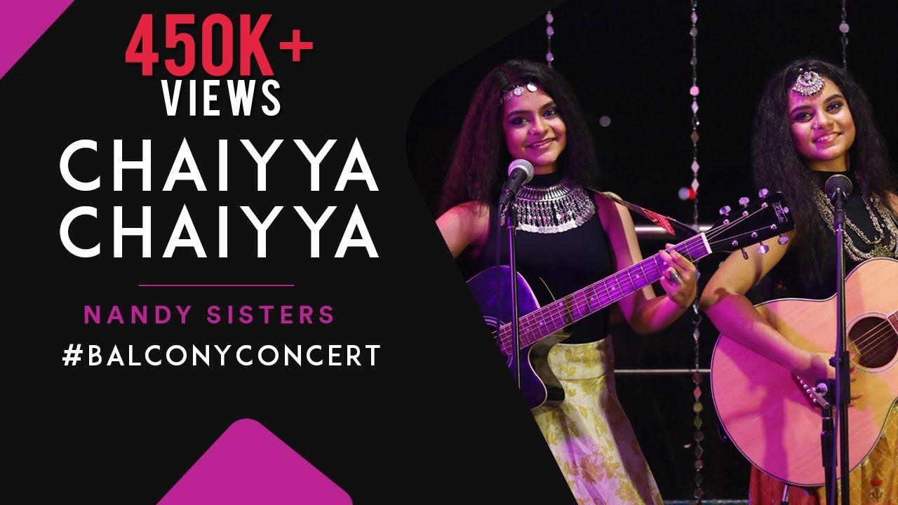 Episode -14 #Balcony_Concert  Chaiyya Chaiyya   Nandy Sisters   Dil Se  Cover  Antara & Ankita Nandy