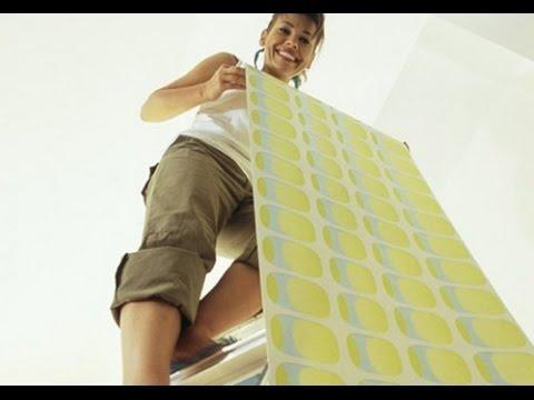 Подготовка стен и поклейка обоев