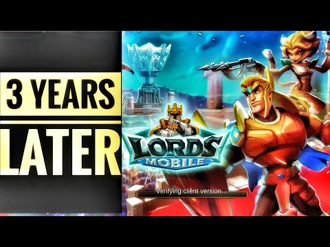 Lords Mobile - Brando F2P 3 Years Later!