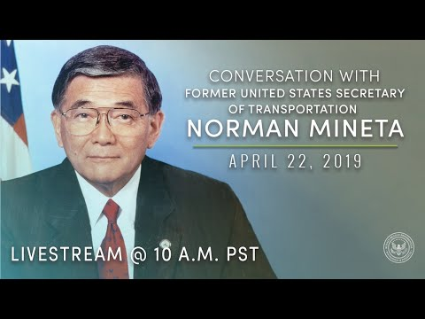 Conversation with Norman Mineta