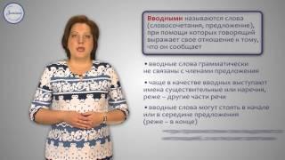 Русский 5 Предложения с вводными словами