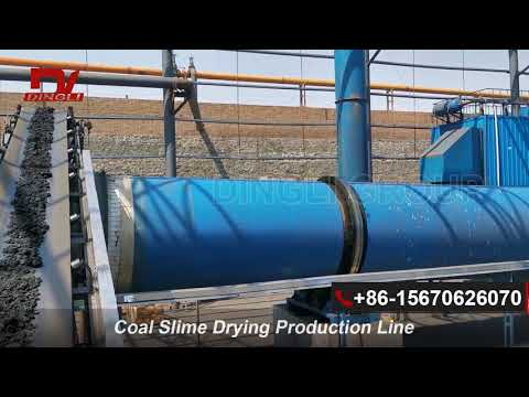 Hot Sale Coal Slime Rotary Dryer