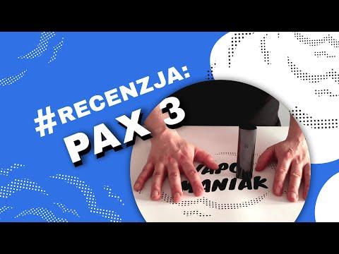 PAX 3 Vaporizer (Waporyzator) Video-Recenzja PL – VapoManiak [1080p]