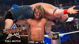 FULL MATCH - John Cena vs. AJ Styles: SummerSlam 2016