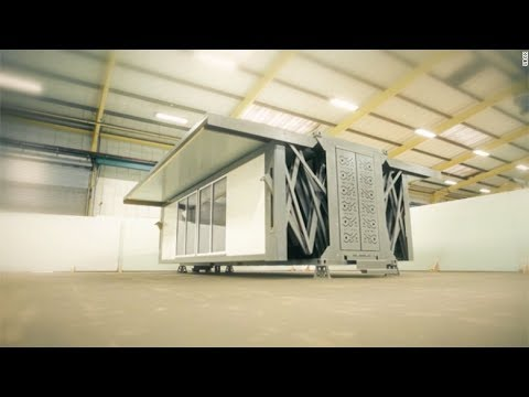 Flat Pack Homes: The flat pack home that builds itself in under ten minutes | Portable Building