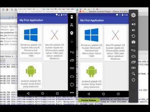 Genymotion And Xamarin Android Player