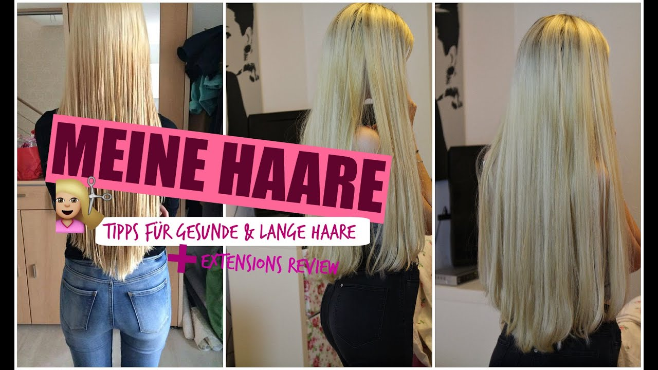 meine haare tipps f r gesunde lange haare extensions review youtube. Black Bedroom Furniture Sets. Home Design Ideas