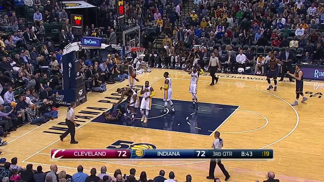 Quarter 3 One Box Video :Pacers Vs. Cavaliers, 2/8/2017 12 ...