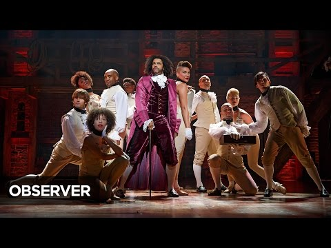 Observer Backstage: Daveed Diggs / Broadway's Hamilton